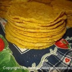 Tortillas de Maíz Mexicanas Ecológicas